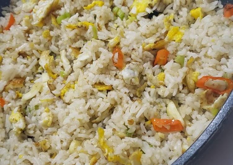 Resep Nasi goreng putih Terbaik