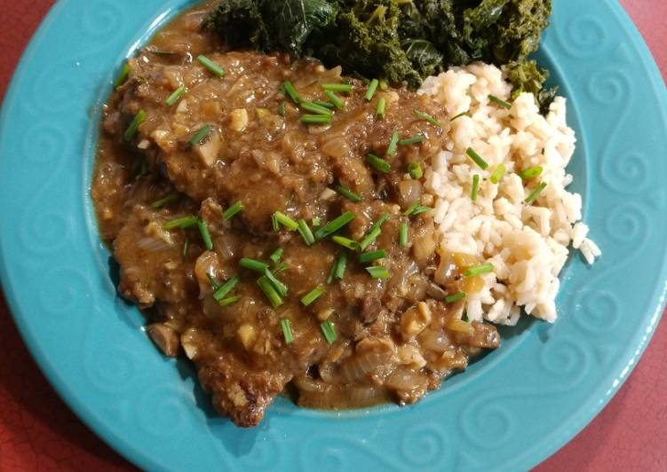 Use Food to Boost Your Mood Cubed Steak & Gravy