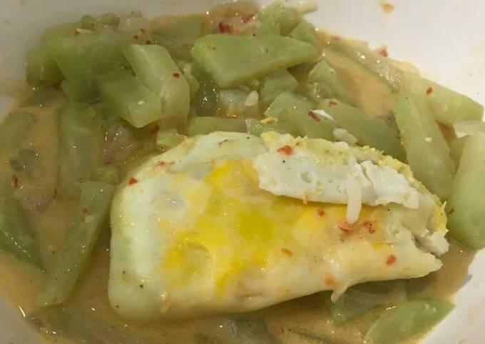 Resep Sayur Labu Siam Pedas Manis Mudah No Msg Oleh Sissassy Cookpad
