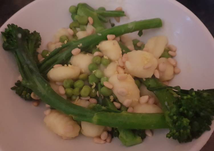 Gnocchi with Tenderstem Broccoli