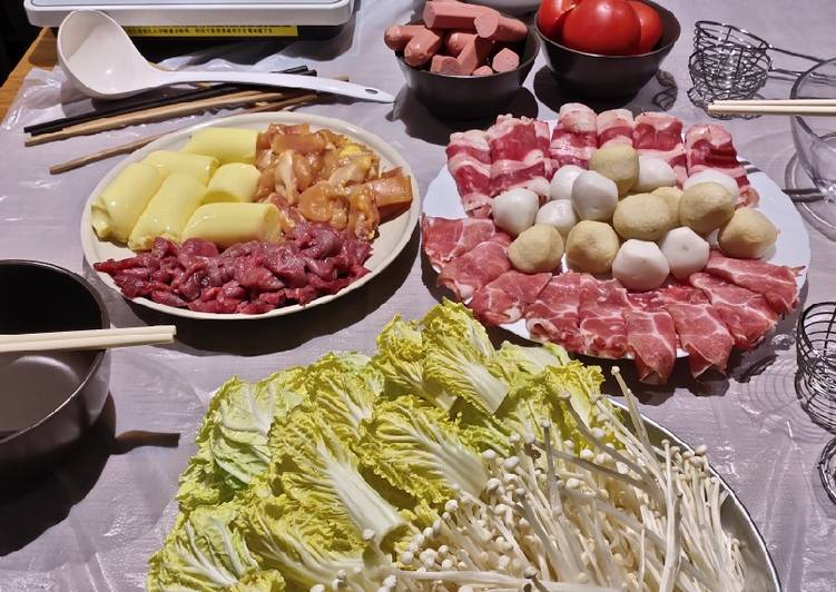 15 Minute Step-by-Step Guide to Prepare Any Night Of The Week Hotpot or Shabu Shabu
