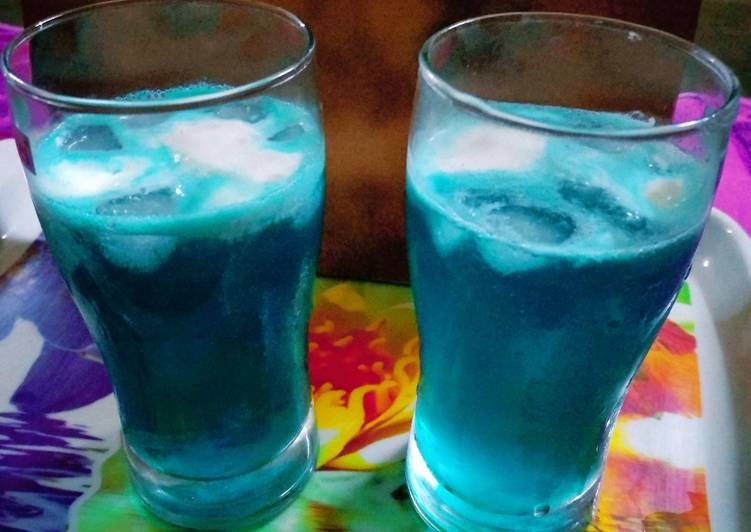 Step-by-Step Guide to Prepare Super Quick Homemade Blue Lagoon Mocktail