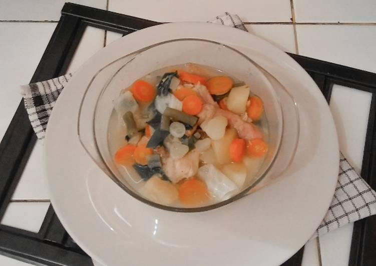 Sayur Sup Ayam Lezat