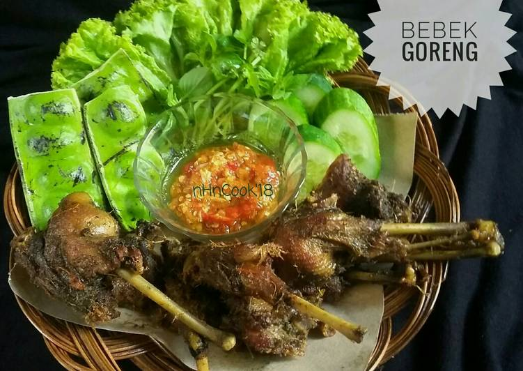 Bebek Goreng recomended (TANPA PANCI PRESTO)