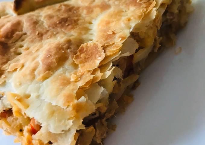 Tarta De Atún O Empanada Gallega Receta De Lina Casas Cookpad