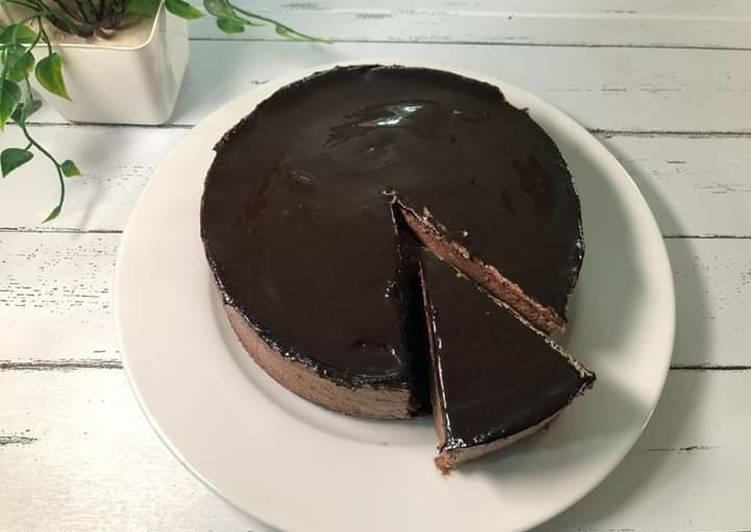 Choco Mousse Ganache Cake