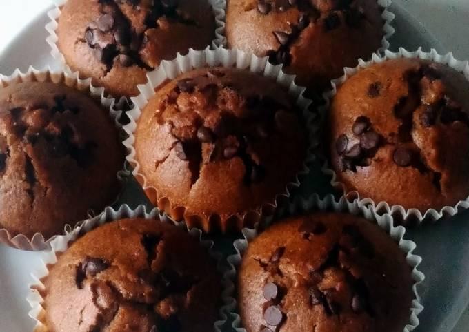 Muffins cacao sans gluten sans lactose
