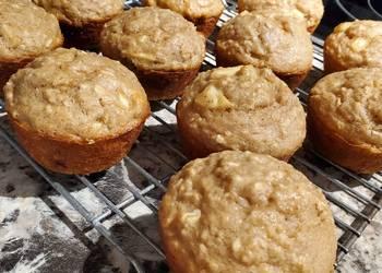 Easiest Way to Recipe Tasty Apple Cinnamon Oatmeal Muffins