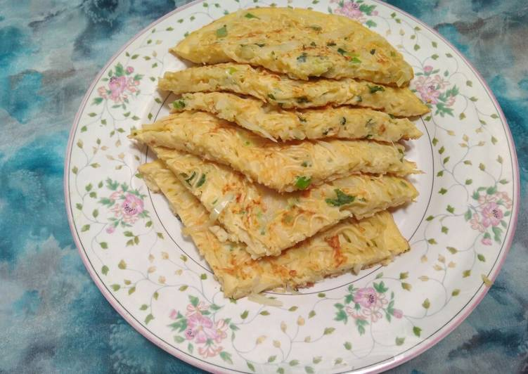 Resep Omelet Mie Susu Oleh Ria Hasyamin Cookpad