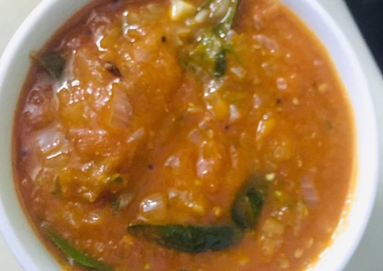 Simple Way to Prepare Homemade Tomato gravy