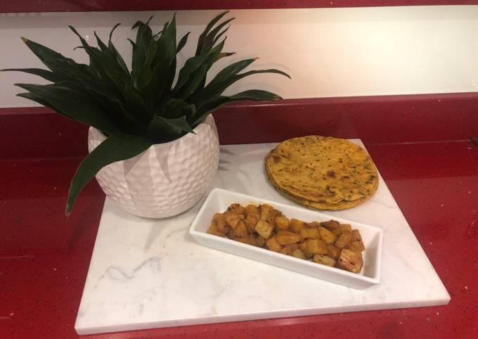 Potato Curry Dry (Koru Shaak)