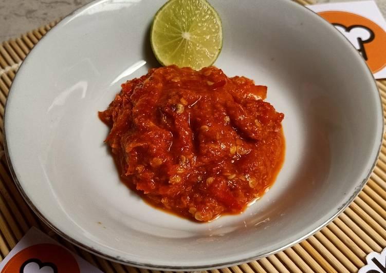 Sambal soto lamongan - cookandrecipe.com