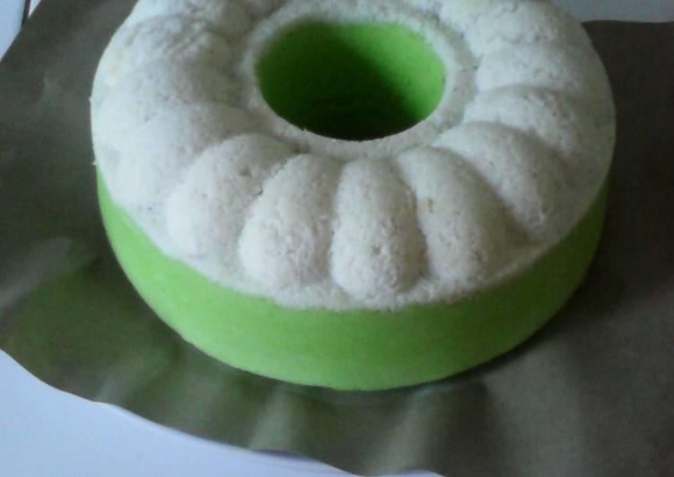 resep membuat Bolu putu ayu (kelapa) - Sajian Dapur Bunda