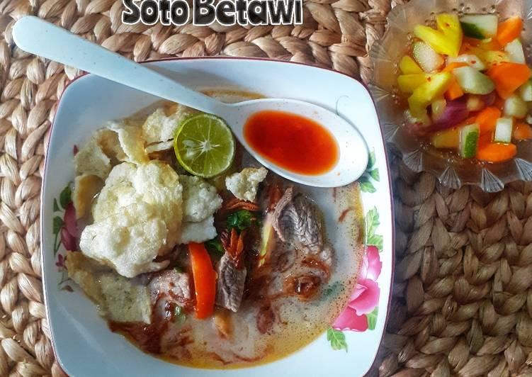 Soto Betawi Asli (Daging Sapi)