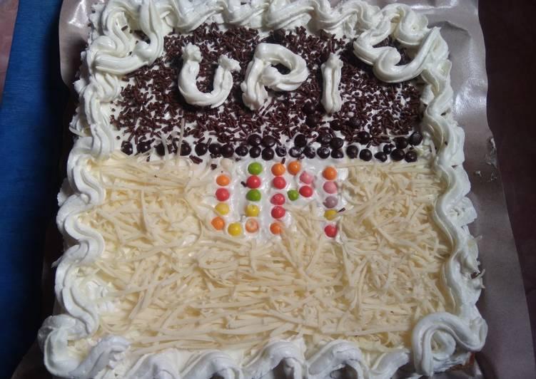 Resep: Berselera Cake Ultah