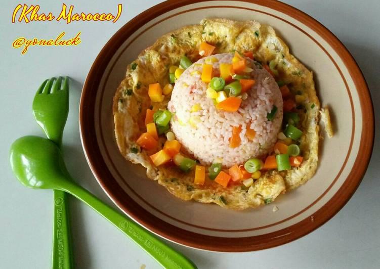 Salad Nasi (Khas Marocco)