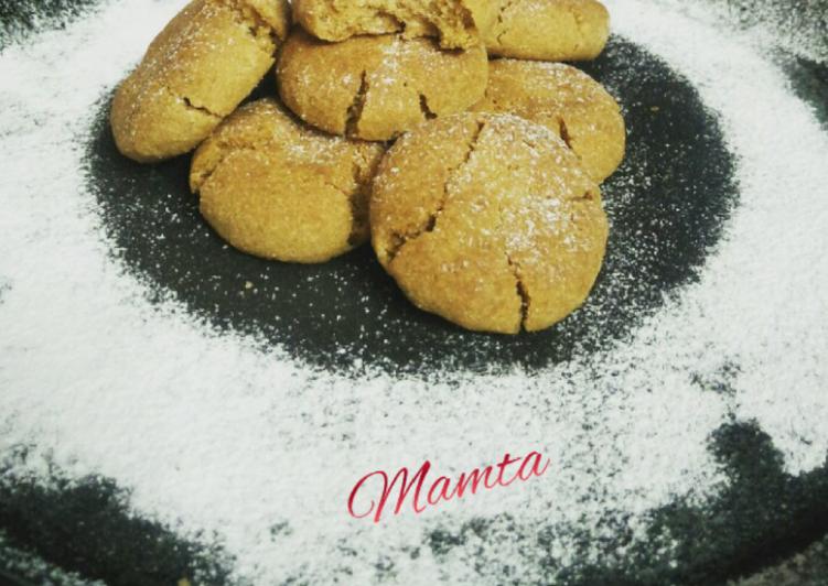 Wheat flour coconut cookies
