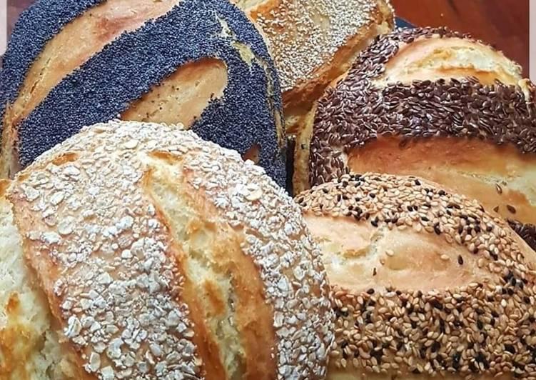 Recette Des Boules de pain aux graines