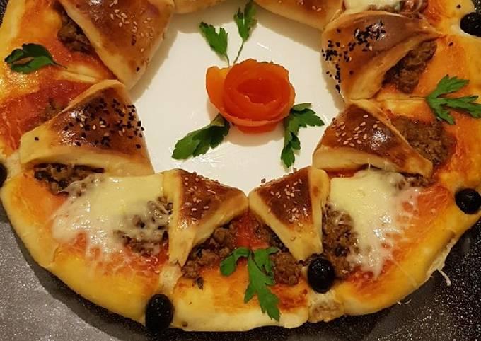 Pizza revisitée avec une pâte moelleuse