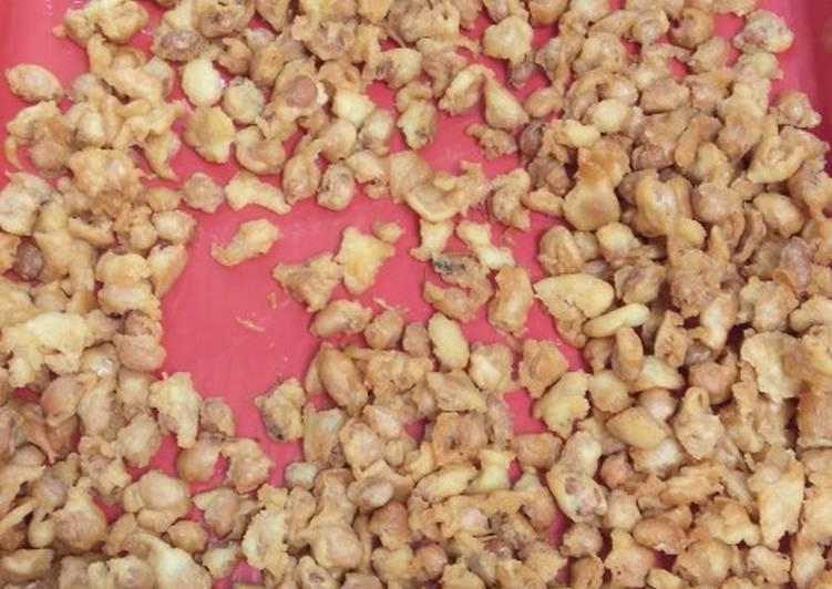 Cara Memasak Kacang telor keriting crispy 🤤, Enak Banget