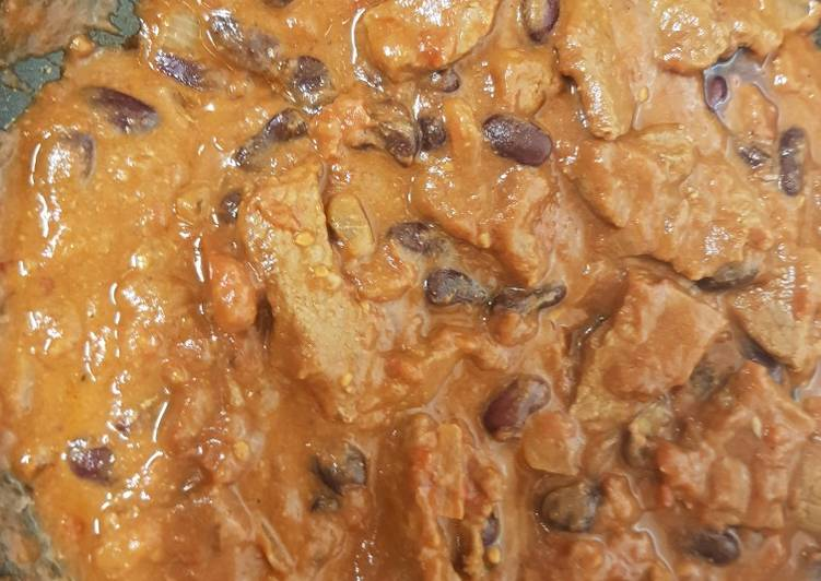 My Chilli Beef & Basmati Rice. 💜