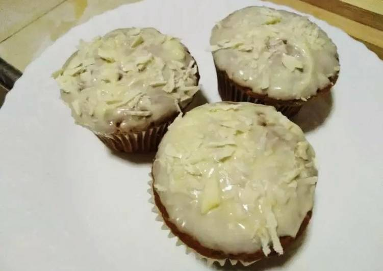 Steps to Make Super Quick Homemade Carrot muffins with Brandy#myfavoriteeasterdishcontest