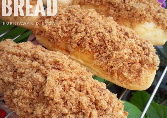 Roti Abon (chicken floss bread)