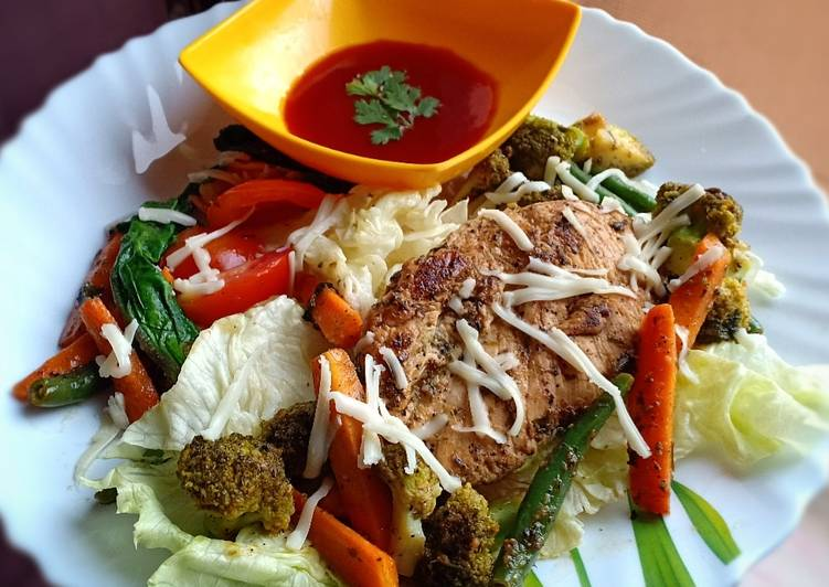 30 Minute Steps to Prepare Speedy Pan Seared Chicken Breast with Saute Vegetables