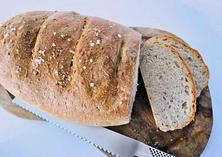 Simple Way to Prepare Quick Deli style rye bread