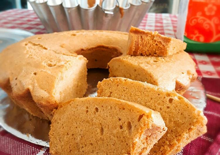 Butter cake gula merah