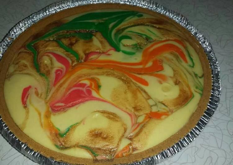 Chef Warren's Rainbow Cheesecake