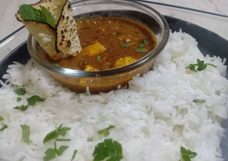 Paneer Masoor dal Curry