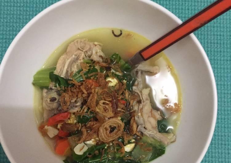 Ayam Kuah Pakcoy Pedas