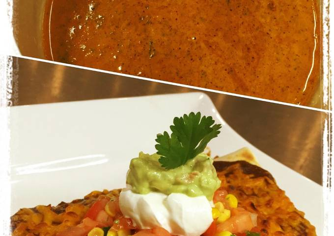 Cilantro Enchilada Sauce