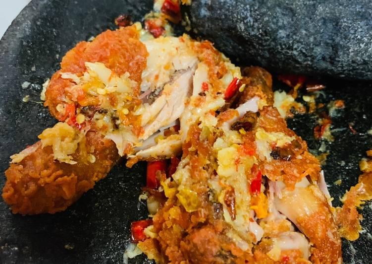 Ayam Geprek Spicy Mcd