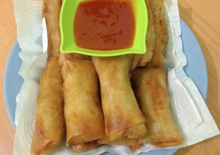 Resep Popia Medan Oleh Lie Zhu Cookpad