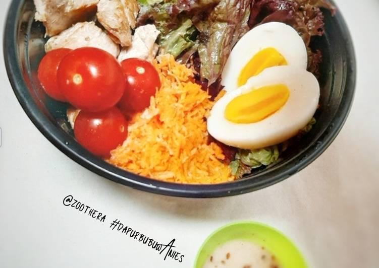 Salad Sayur Praktis II by #dapurbubuwAnies (Makanan Sehat)