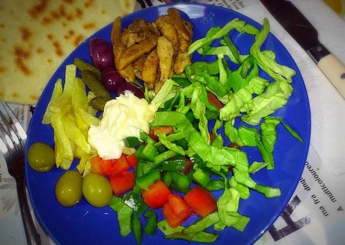 Kebab a l'assiette 🍴