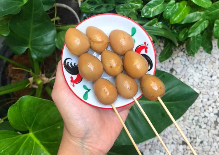 Sate Telur Puyuh Angkringan