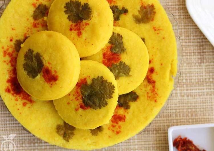 25 Minute Recipe of Favorite Gujarati Dhokla Recipe | How To Make Authentic Khatta Dhokla Recipe