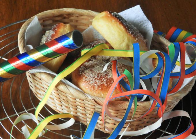 Beignets au four pour Mardi-Gras ou pas