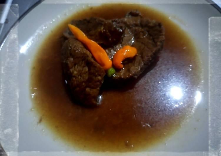 Semur daging betawi