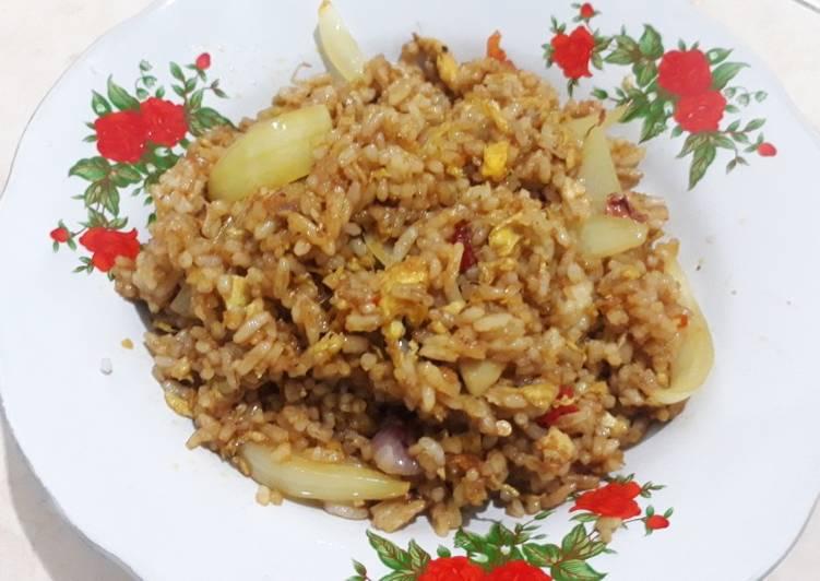 Nasi Goreng Rempah Tanpa Sayur