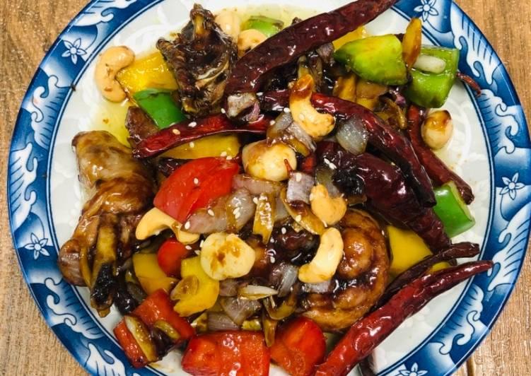 Ayam Sze Chuan Cili Kering - velavinkabakery.com