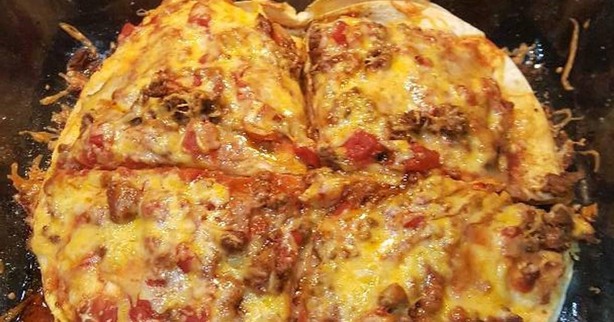 Easy mexican pizza casserole