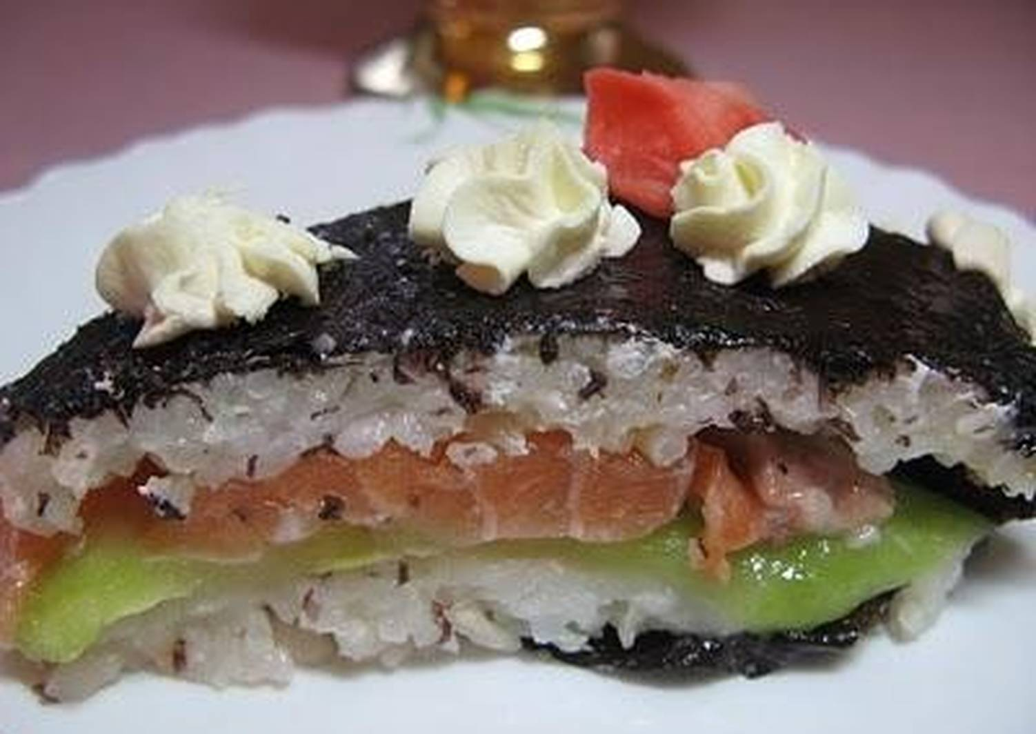 салат суши слоями рецепт с фото определяется, основном, тактовой