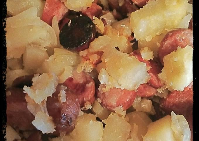 Meat & Potato Caserole