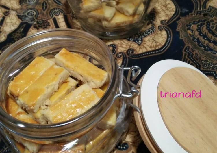 Kue kacang lembut (ngacang banget) - cookandrecipe.com