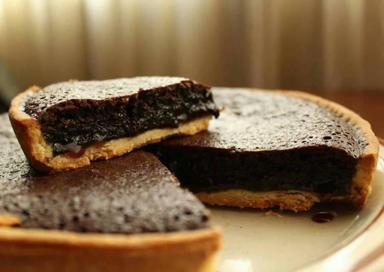Recipe of Favorite Chocolate Fudge Tart