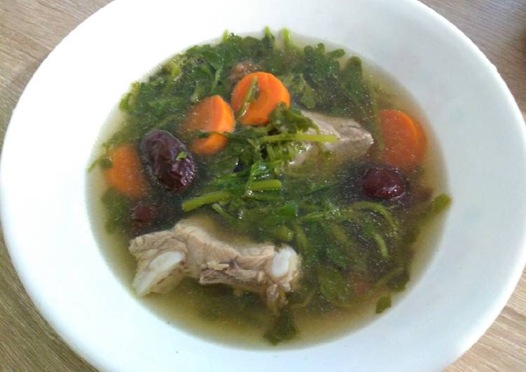 西洋菜排骨汤 Watercress Pork Rib Soup
